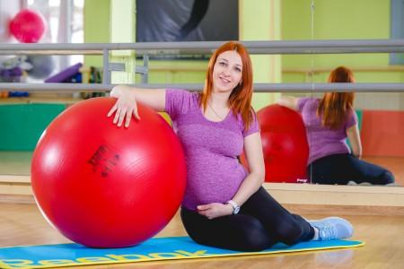 фитнес для беременных 4