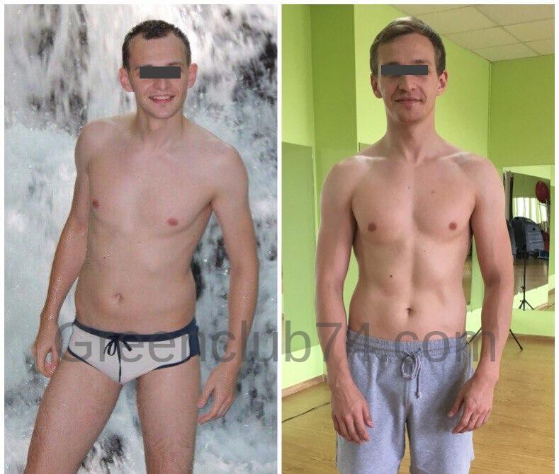 Прокопьев Дмитрий накачал 3 кг мышц на наших тренировках.